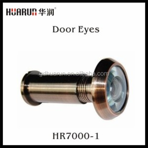 Wholesale uncovered 200 degree glass door eye