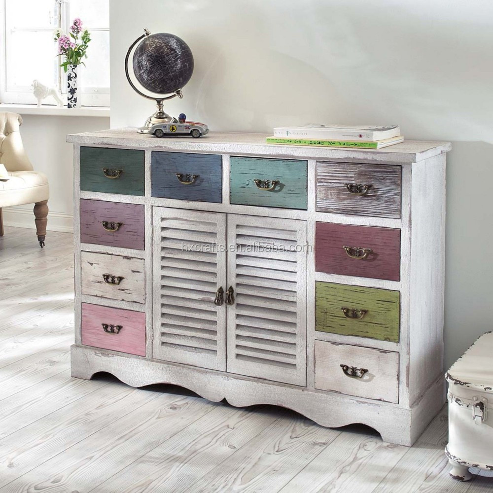 Shabby Look Wood Kommode In Shabby Chic With 10 Drawers Shabby Chic Cabinet Buy Shabby Chic Wooden Cabinet Shabby Look Wood Cabinet Designs Living Room Wooden
