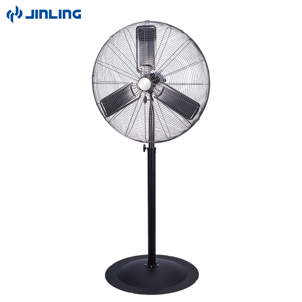 Garage Workshop Fan Jinling 26 30 Inch Oscillating Commercial High Velocity Powerful Standing Industrial Fan For Workshop Warehouse Garage Ul Cul View Industrial Fan