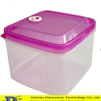 3000ml Recyclable Hard Plastic Lunch Boxdesign Plastic