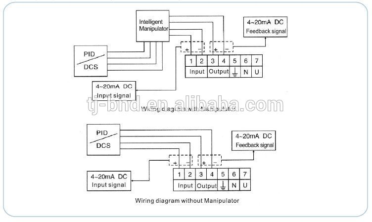 4 wire actuator diagram electric actuator way wire diagram wiring