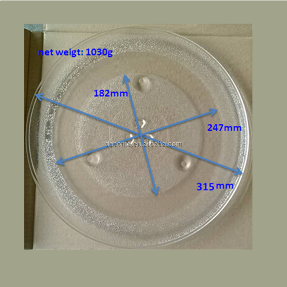 Microwave Plate Microwave Spare Parts Borosilicate Glass Plate In 315mm Diameter Buy Microwave Spare Parts Microwave Glass Plate Microwave Plate 315mm Product On