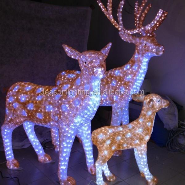 dog christmas lights decorations