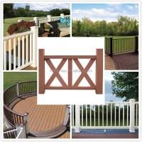 Balcony Railing Design Decorative Wood Rail Outdoor Wpc ...