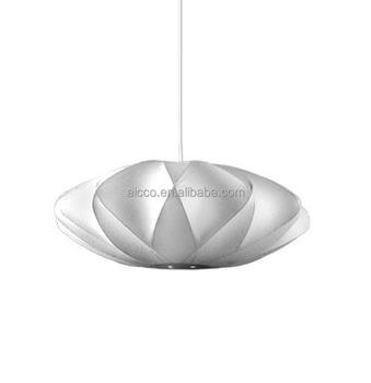 Decorative Lighting Bubble Lamp Criss Cross Premium Fabric