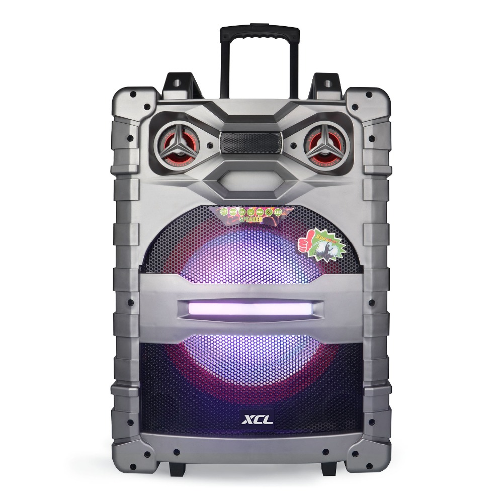 Trolley Lautsprecher Idance Professional 15 Inch Subwoofer Portable Trolley Speaker Box