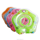 Baby Floating Swim Ring PVC Infant Inflatable Swimming Pool Bath Neck Ring infant neck float circle
