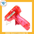 Transparent mini hot melt glue gun for hobby craft use