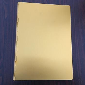 Fancy Metal Ring Binder Notebook Cover - Buy Notebook Cover Design - notebook binder