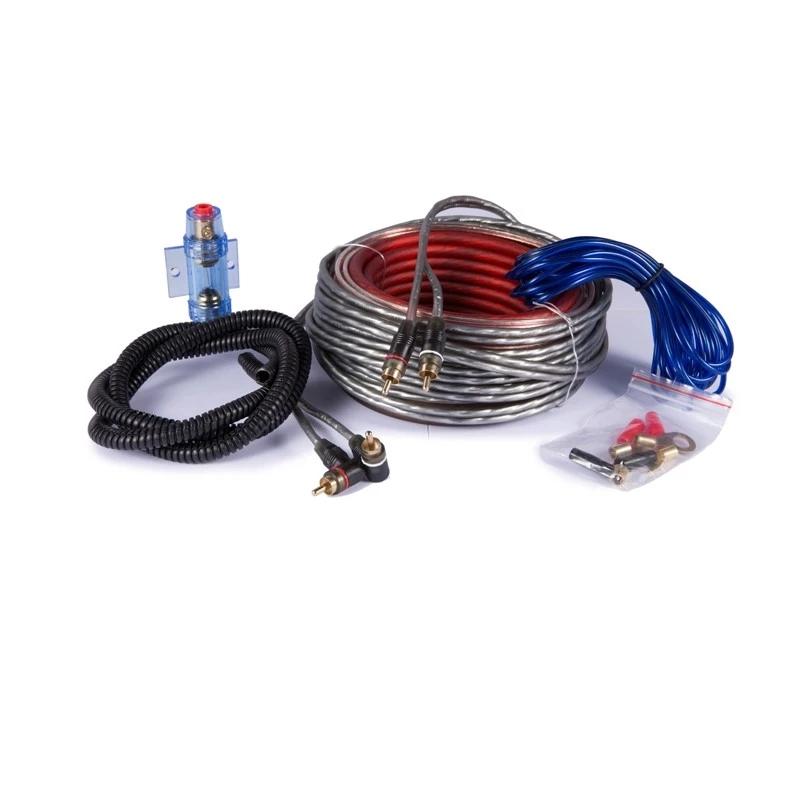 Car Audio Accessories Car Audio Amp Wiring Kit 10ga Amplifier Wiring