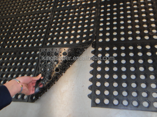 Workshop Carpet Driveway Rubber Mats Permeable Rubber Mat