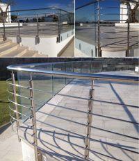 Galvanized Steel Deck Railing | Galvanized Pipe Railing ...
