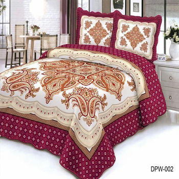 Made In China Pure Handmade Cotton Fabric Embroidery Bed