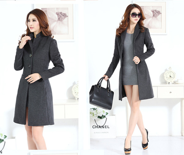 typical long coat used to cover their top