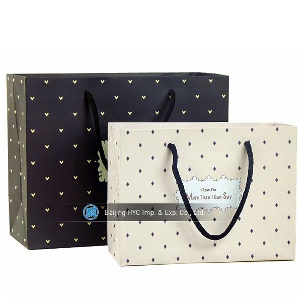 Customed Cheap Paper Bag Design,Paper Garment Bags,Paper