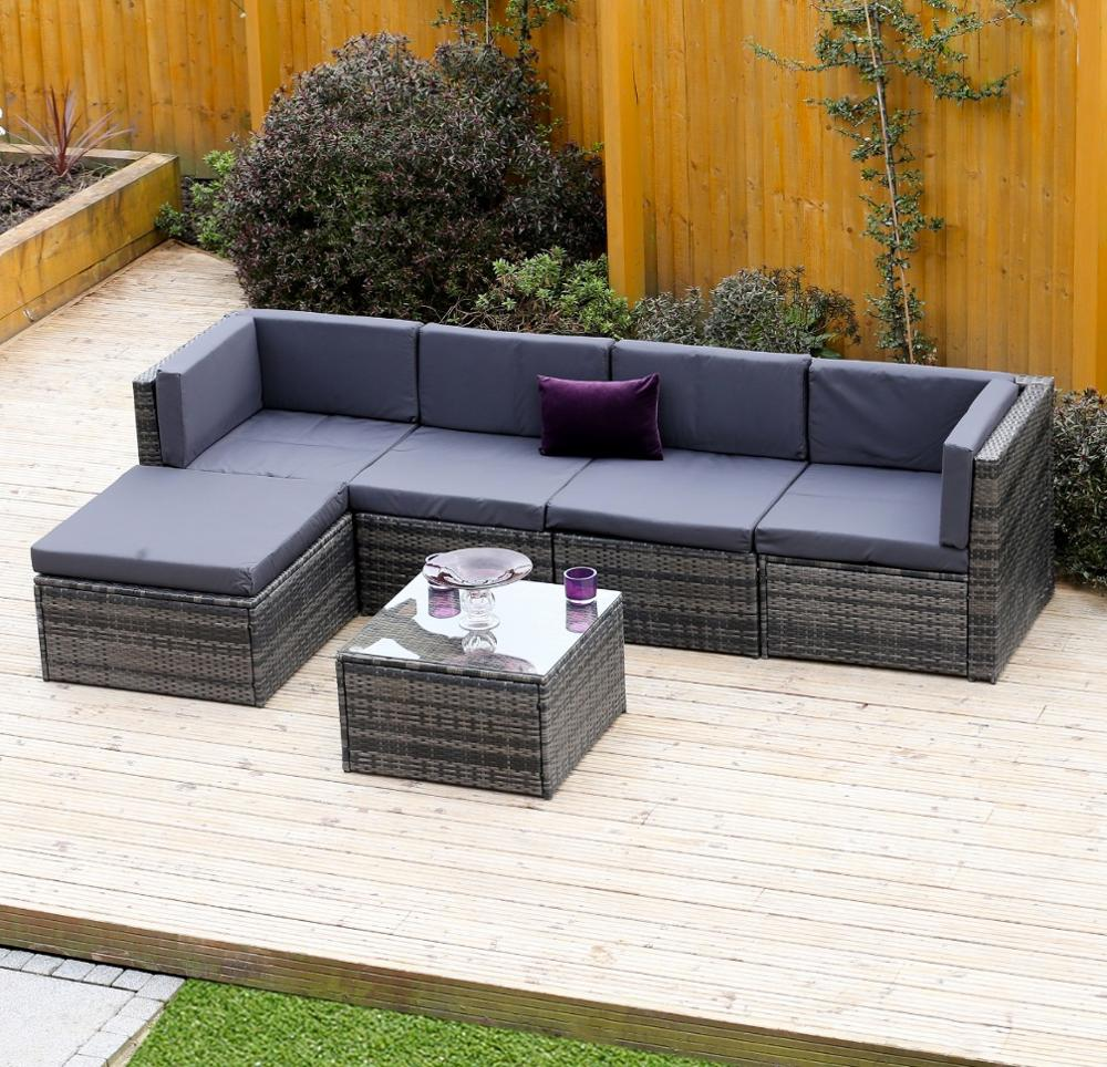 Rattan Sofa Corner Set Rattan Modular Corner Sofa Set L Shape 6piece Assembled Outdoor Garden Furniture Buy Rattan Furniture Set Rattan Sofa Set Product On Alibaba