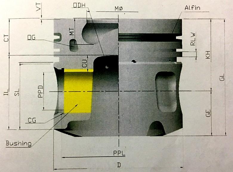 Factory Price 6sd1 Isuzu Diesel Engine Spare Part Isuzu D-max Parts