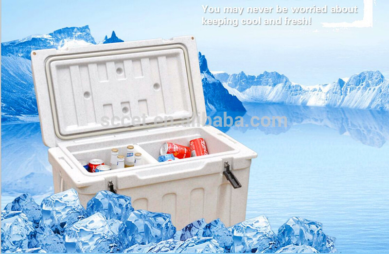 Rotational Molded Insulated Ice Cooler Ice Chest Fishing