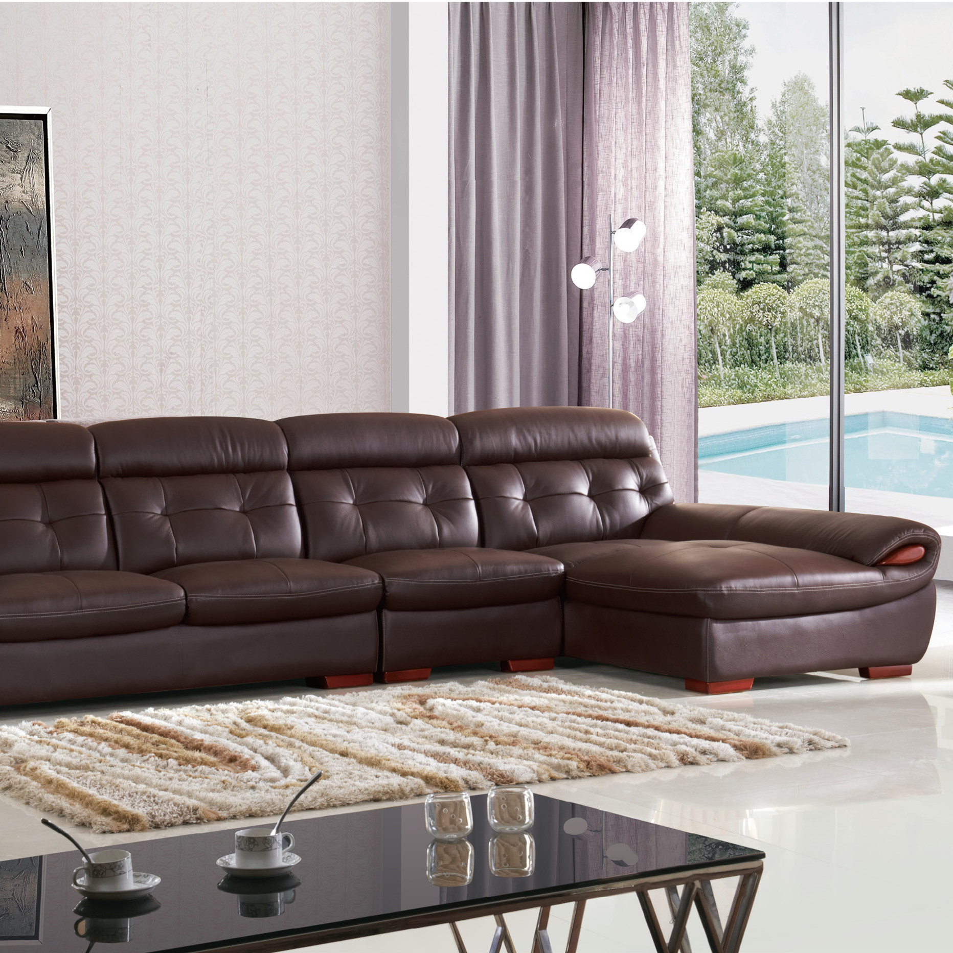 Sala Set L Style On Sales Modern Furniture Italian Style Sectional Sofa Set L Shaped Corner Sofa 8817 Buy Modern Leather Sofa Used Chesterfield Sofa Modern Sofa