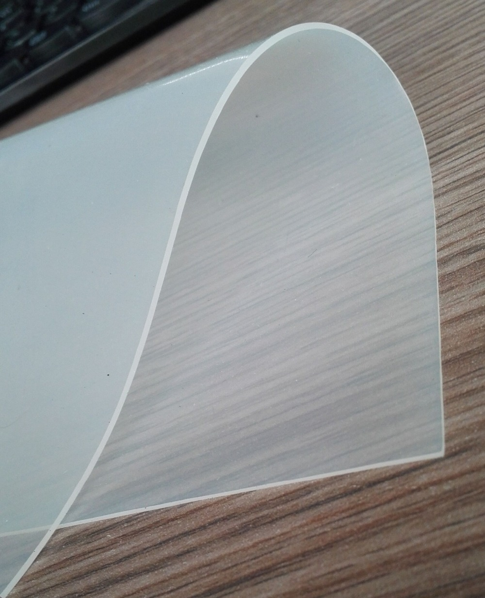 Silicone Transparent Exterieur Translucent Silicone Rubber Sheet / Transparent Silicone