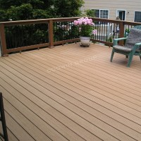Outdoor Wpc Deck Coffee Color Laminate Flooring Waterproof ...