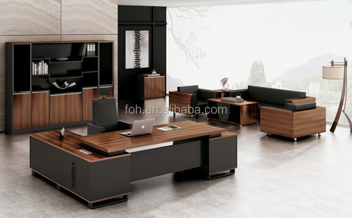Elegant Modern Office Table Design/solid Surface Ceo