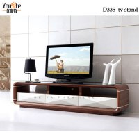 Walnut Wood Glass Tv Table Stand Plasma Tv Glass Table ...