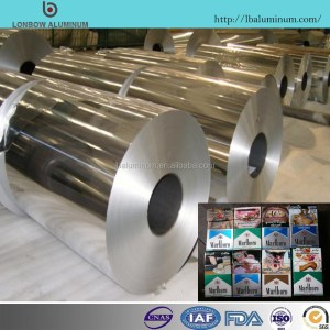 Household Usage Wrapping Coated Food Packaging Kitchen 8011 Aluminium Foil Price