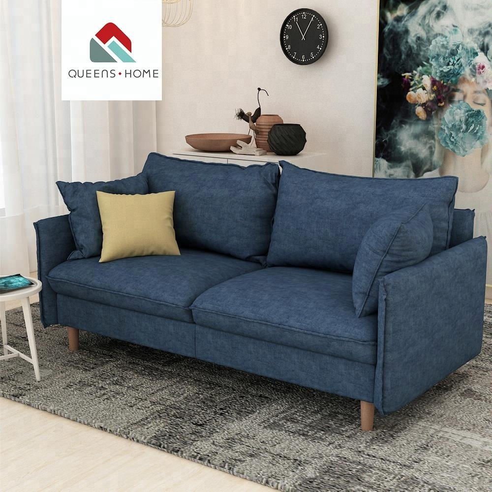 Sofa House Manufacturers Queenshome Furniture Manufacturers Buying Furniture For Home In China House 3 Seater Furini Sof Fabric Sectional Blue Sofa Set Buy Furniture