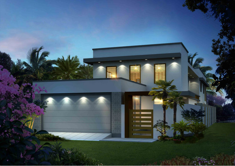 Modern Luxury Open Concept House Plans - Buy Open Concept House
