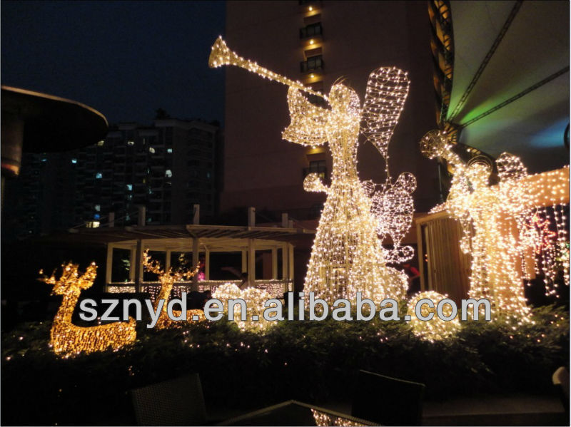 Led Angels For Outdoor Christmas Decoration 2014 - Buy Outdoor - outdoor led christmas decorations