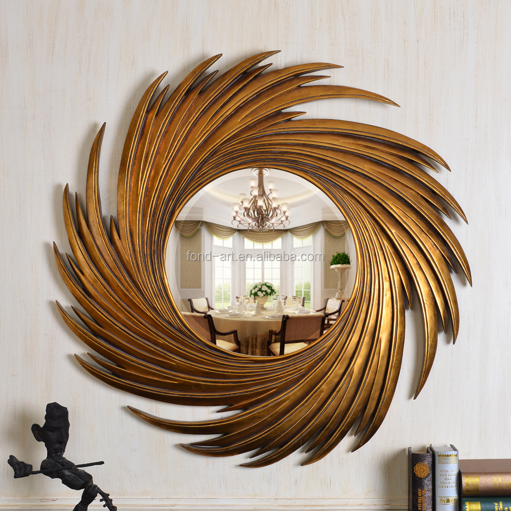 Sun Shaped Mirrors Pu159 Antique Gold Sun Shaped Decorative Wall Mirror Buy Antique Framed Mirror Sun Shaped Wall Mirror Unique Wall Mirrors Product On Alibaba