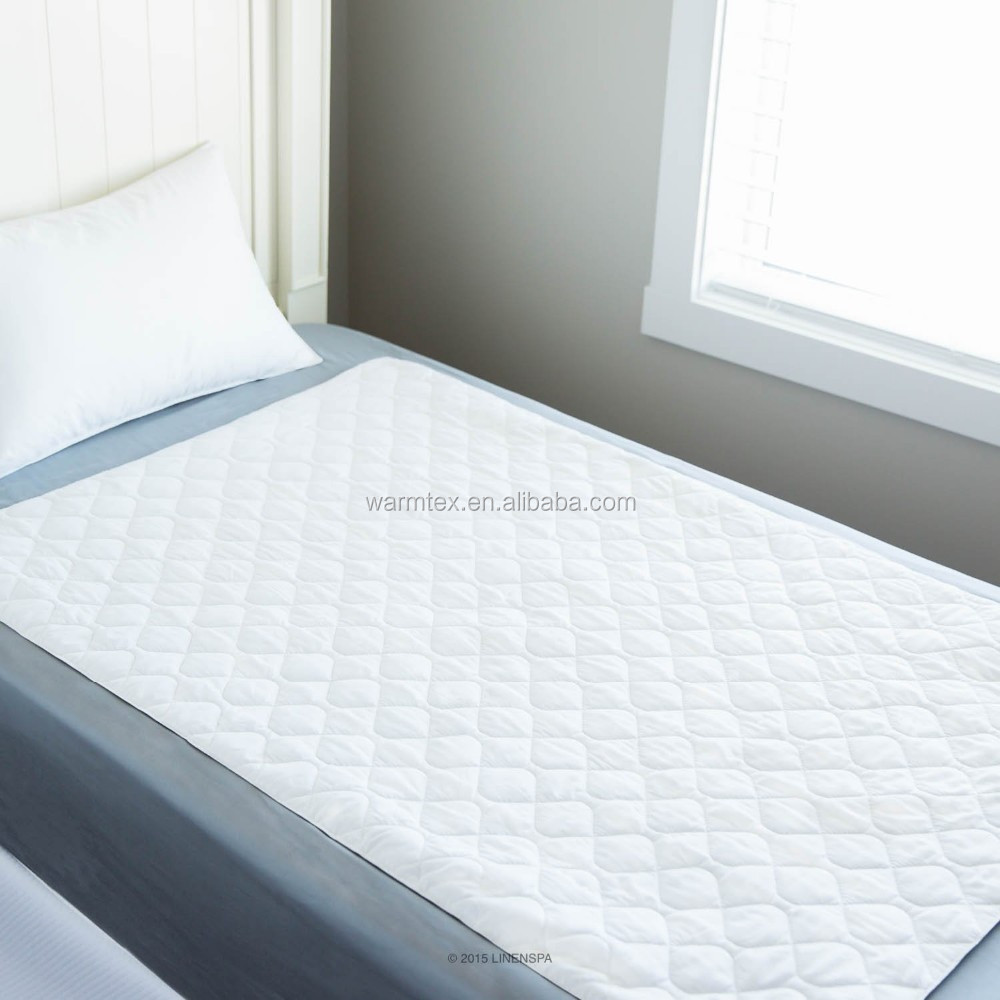 Bed Overlay Quilted Cotton Waterproof Mattress Overlay Pad High Quality Ultra Waterproof Sheet Protector With 34
