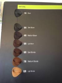 Hair Color Chart Synthetic Hair Color Swatch Book - Buy ...