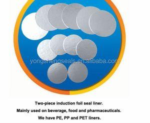 Aluminum foil for induction seal liner