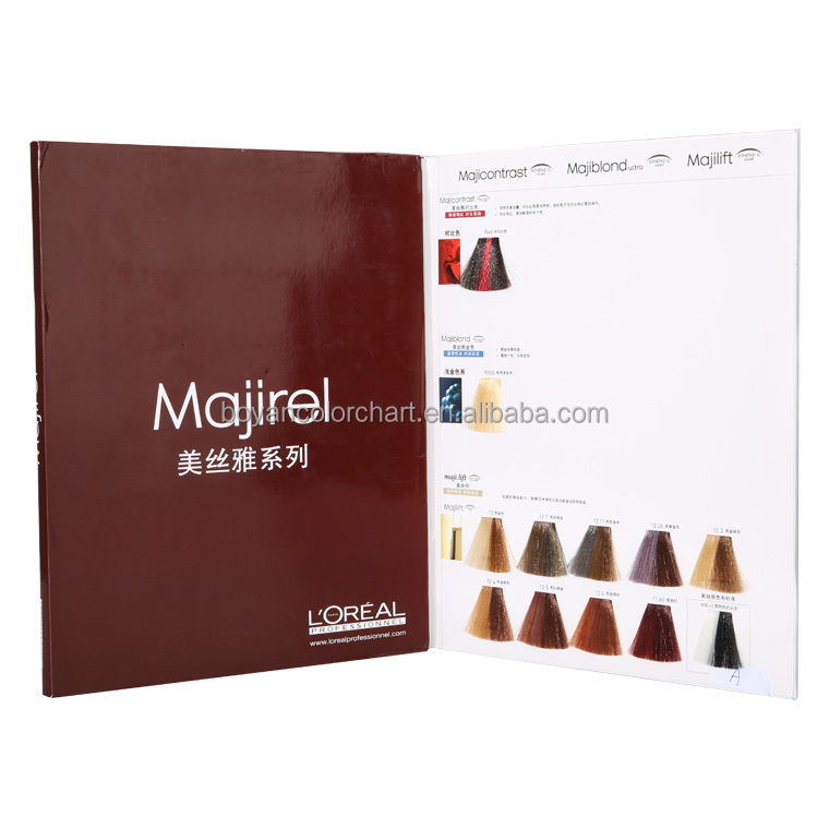 Alibaba Majirel Hair Coloring Chart,Red Hair Color Swatch Color