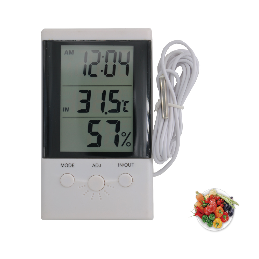 Buy Clock Peak Digital Recorded Where To Buy A Hygrometer And Thermometer With Clock Buy Waterproof Digital Thermometer With Probe Lcd Thermometer Large