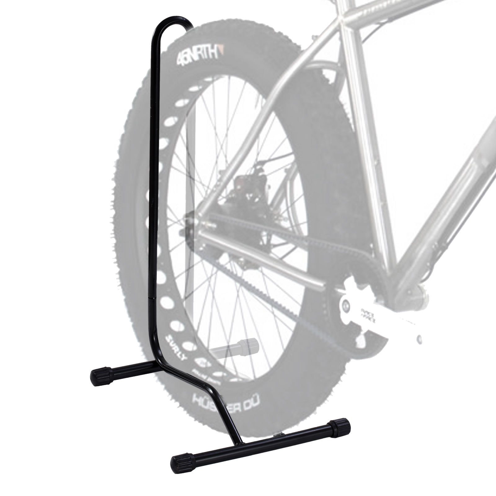 Parking Garage Bike Rack Buy 1 Bike Floor Parking Rack Storage Stand Heavy Duty Single