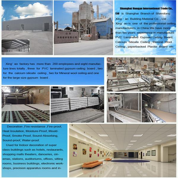 4x8 Drywall Paperbackedstandard Pvc Ceiling Panel