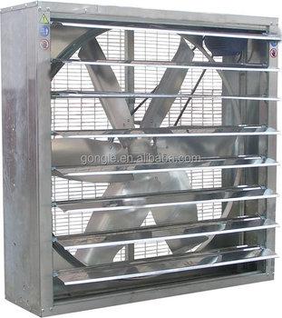 Industrial Workshop / Warehouse Wall Mounted Exhaust Fan