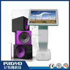 IR touch exhibition pos led lcd touch kiosk