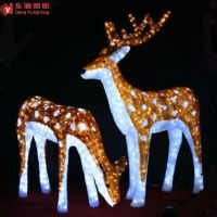 Christmas Outdoor Decoration Animated Led Christmas ...