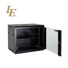 6U IT Wall Mount Network Server Data Cabinet Rack With Glass Door
