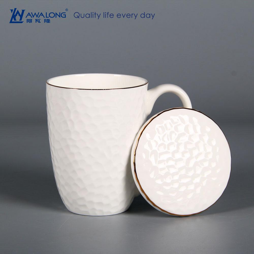 Fullsize Of Porcelain Coffee Mug With Lid