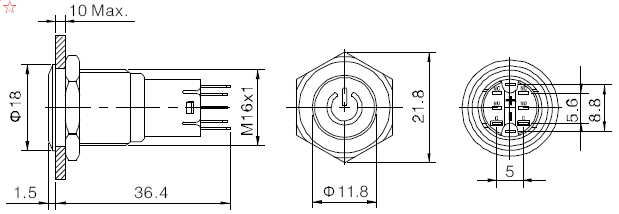 dual power supply 8v 8v 12v 12v