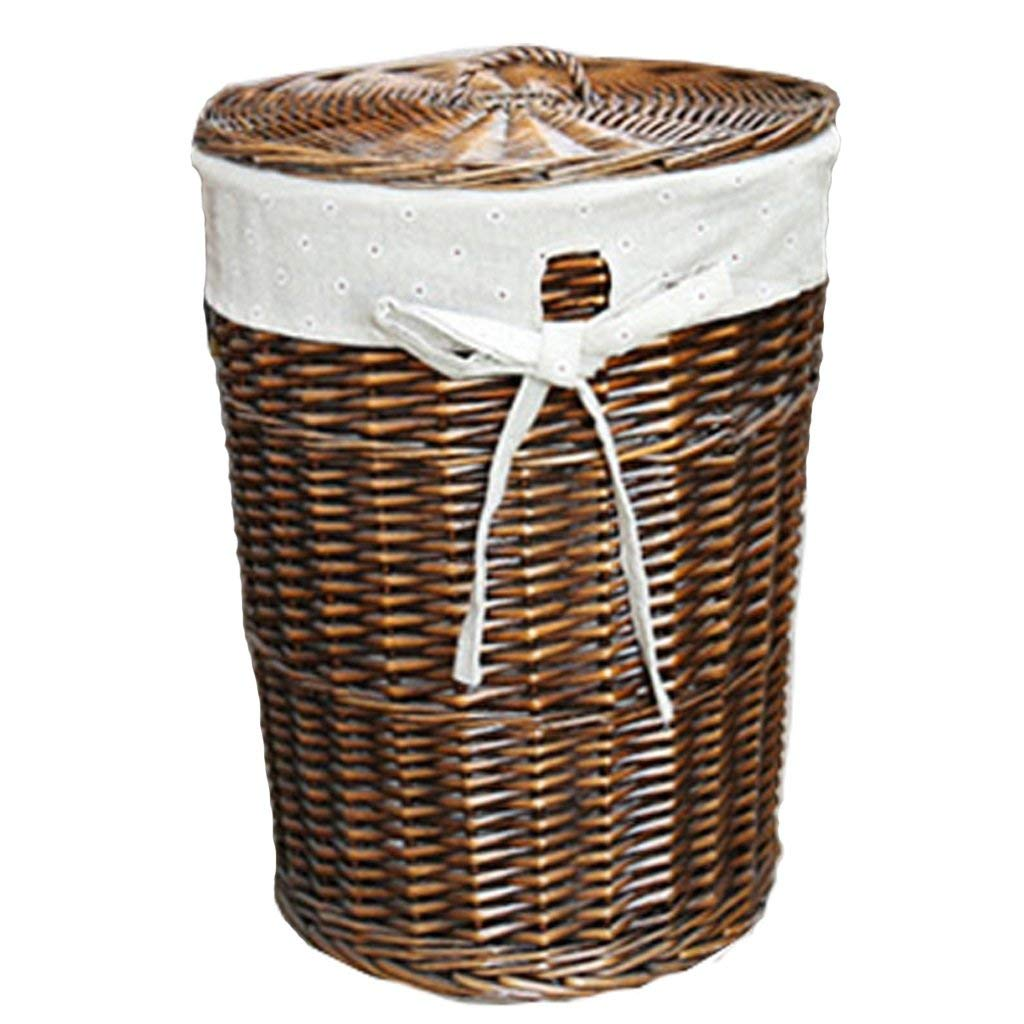 Dirty Laundry Baskets Buy Rattan Covered Large Bathroom Storage Basket Of Dirty Clothes