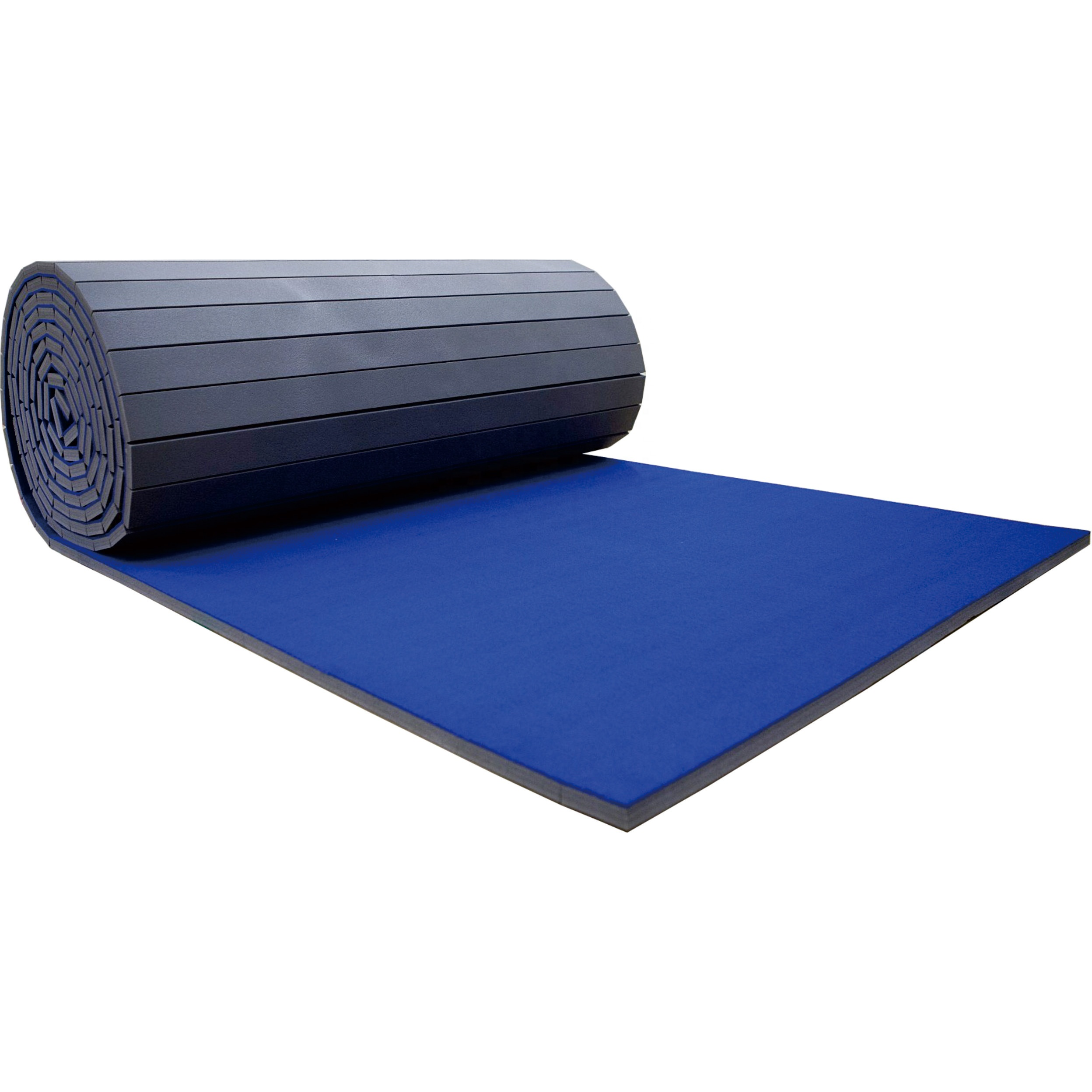 Crash Mats Australia Wholesale Blue Gymnastics Crash Rolled Up Mat Used For Cheerleading