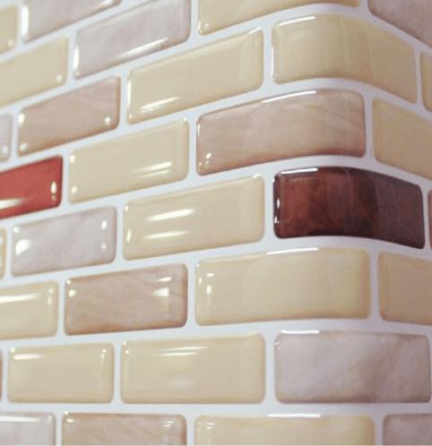 3d Brick Wallpaper For Living Room Decorative Peel And Stick Kitchen Backsplash Tile Buy