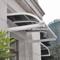 Fixed System Aluminium Windows Rain Awning,Canopy For Sale
