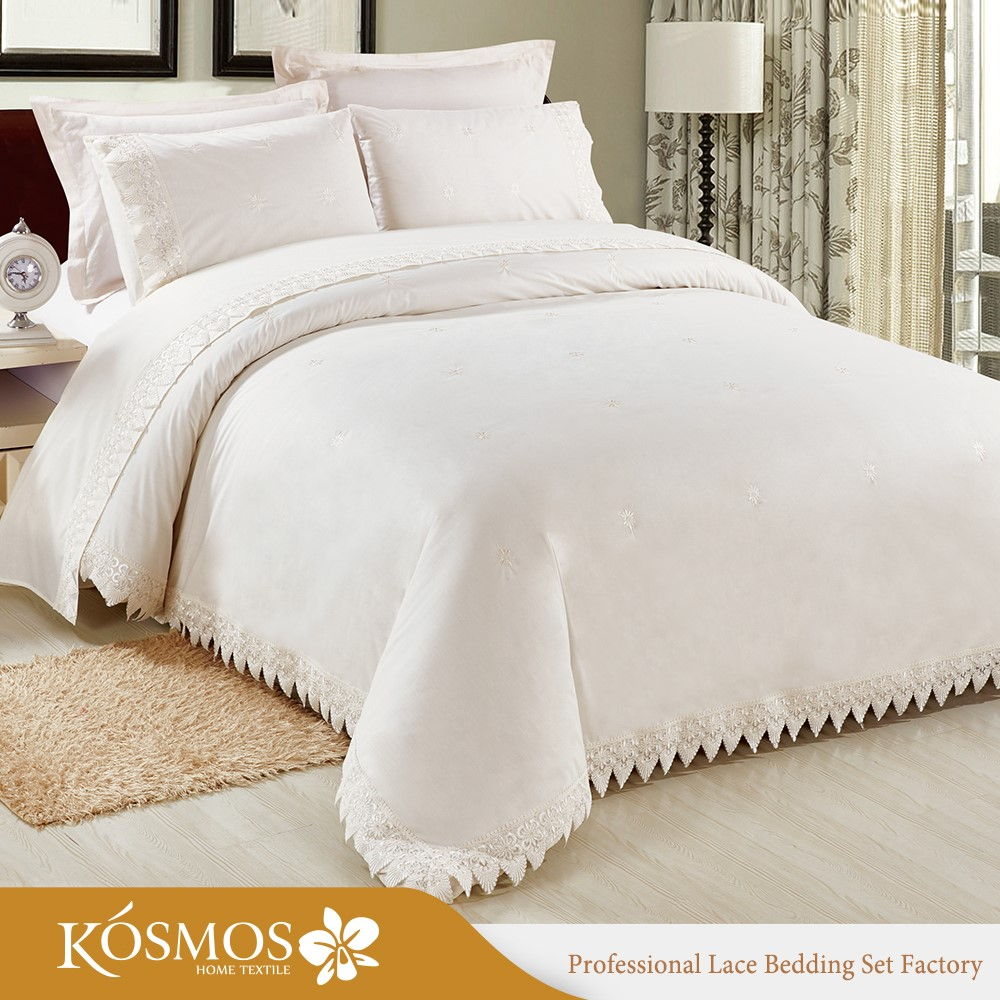 Was Ist Polycotton Bettwäsche 4pcs Wholesale King Bedding Poly Cotton Lace Duvet Cover Set For